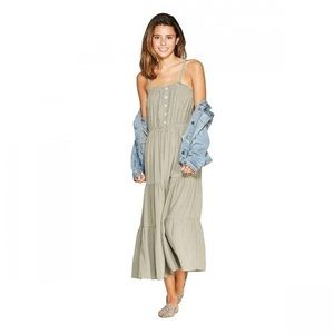 Universal Thread Tiered Midi Dress